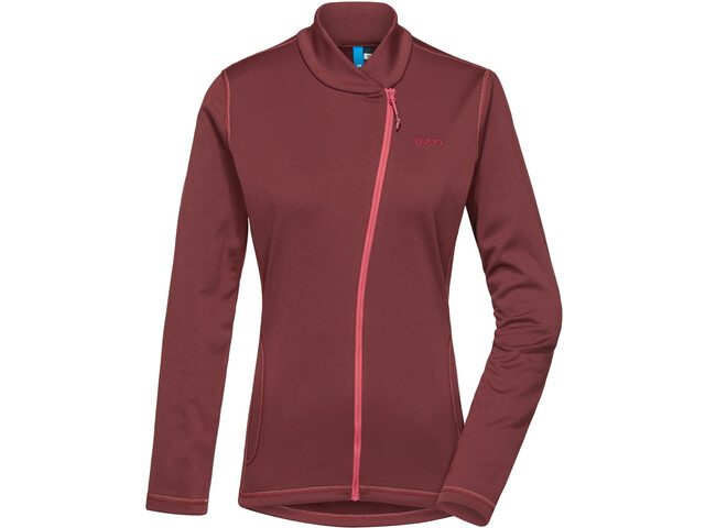 PYUA Appeal Trainer Jacket Women mahogany red